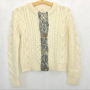 EUC • One girl who Sweaters • knit sweater • sz S